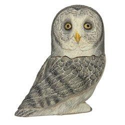 Owl Pot Belly - Harmony Ball Pot Belly--Great Gray Owl