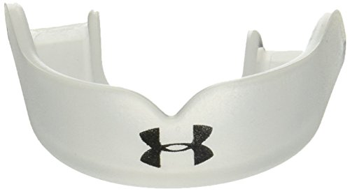 Under Armour Mouthwear ArmourFit Low Profile UA Hoops Mouthguard, Clear, Adult (Under Armour Mouth Guard)