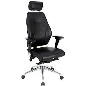 itask 24 7 executive top leather posture chairs amazon co uk