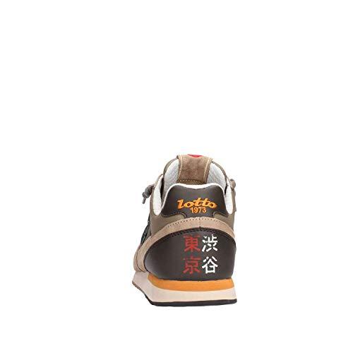 EU Sneakers Uomo Tokyo Marrone Lotto Suede Mesh Shibuya 43 Leggenda YCxzwSqn5g