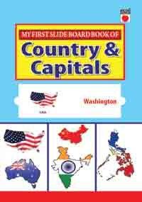 My First Slide Board Book - World Capital -