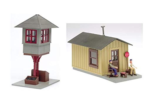 Used, Atlas O Scale Kit Elevated Gate Tower with Shanty for sale  Delivered anywhere in USA