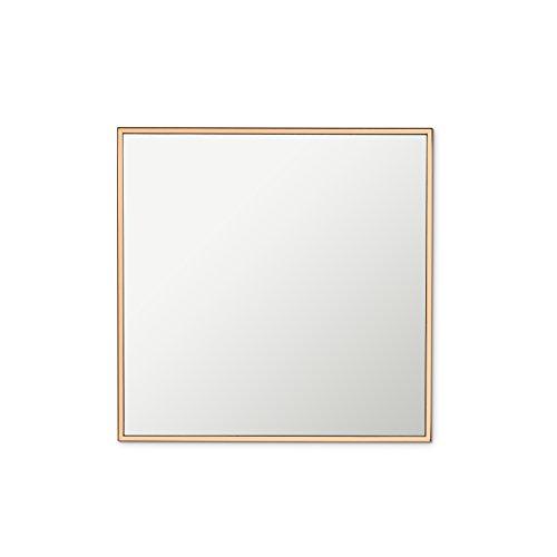 Pequeño espejo de pared Edge de cobre 30,5cm cuadrado