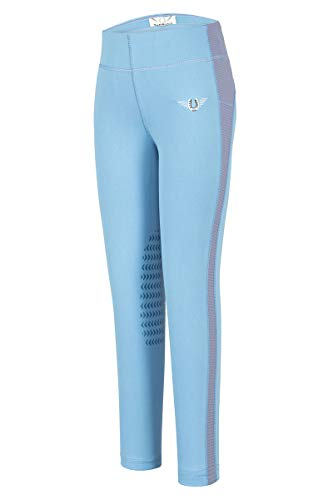 Rider Gloves Pony Childs - TuffRider Children's Ventilated Schooling Riding Tights|Color-FrenchBlueCornflower|Size-Large