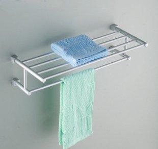 SDKIR-Espacio toallero aluminio accesorios de baño baño cocina soporte  colgante para toallero  Amazon.es  Hogar da4327f5aead