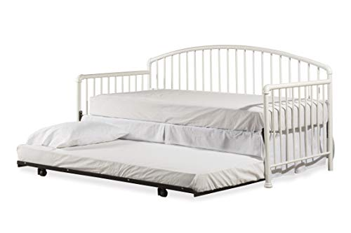 Hillsdale Furniture 2001DBLHT Brandi Daybed with Trundle White