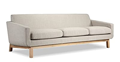 Kardiel Platform Mid-Century Modern Classic Sofa