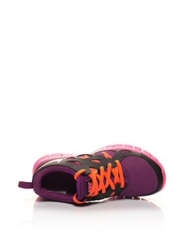 Nike Free Run 2 (Gs) - - Unisex adulto Malva / Negro / Naranja