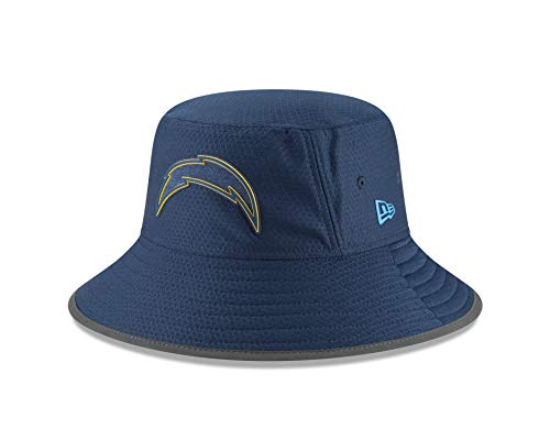 Nfl Training Camp - New Era NFL 2018 Training Camp Sideline Bucket Hat Team Color (Los Angeles Chargers)