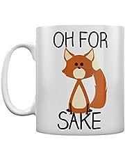 White Oh For Fox Sake Mug by RealSlickTees