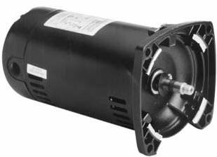 Emerson EUSQ1152 Square Flange Pool and Spa Motor 1-1/2 HP ()