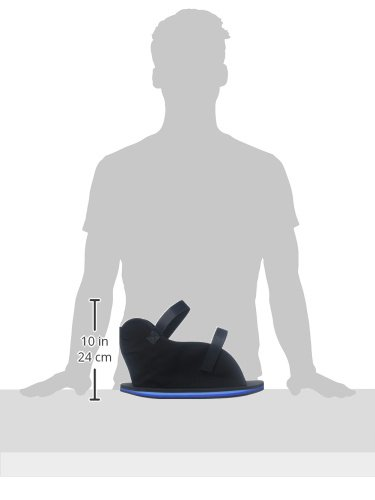 Bilt-Rite Mastex Health Economy Open Toe Cast Boot, Black, X-Large by Bilt-Rite Mastex Health (Image #3)