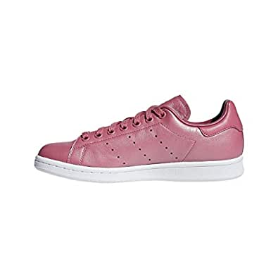 adidas Women's Stan Smith Shoes, Trace Maroon/Trace Maroon/Footwear White, 5.5 US (5.5 AU)