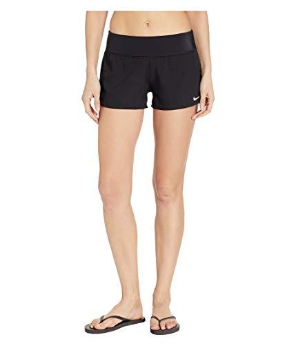 Nike Women's Solid Element Swim Boardshorts Black X-Large