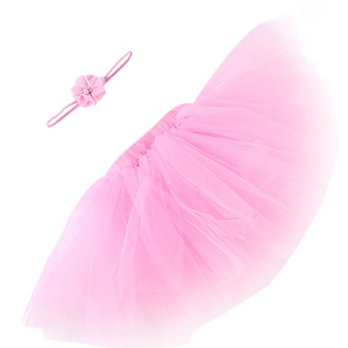 Clearance! Baby Photo Photography Prop Infant Tutu Skirt Newborn Costume Dress Outfits with Headband -