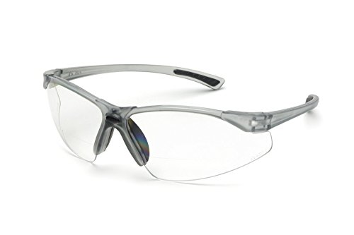 Bifocal Safety Glasses in Polycarbonate clear Lens +1.5 - Bifocals Glasses Safety