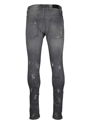 Uomo Cotone Grigio 080essentialdenimgreystone Represent Jeans 5wqU4