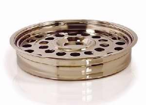 Communion Ware Brass (B & H Publishing Group 84037 Communion - Remembrance Ware - Brass Tone One - Pass Tray And Disc)