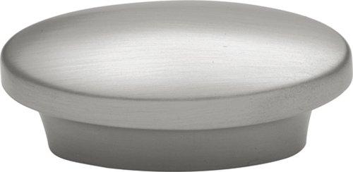 (Hickory Hardware P7524-SN Metropolis Oval Cabinet Knob, 1-Inch, Satin Nickel)