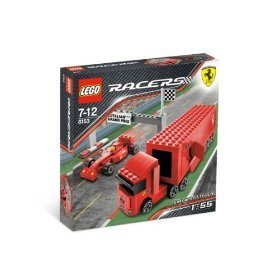 Racers Ferrari F1 Truck - Lego Racers Lego 8153 Ferrari F1 Truck 1:55 parallel import goods