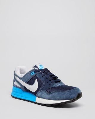 Nike Mens Air Pegasus '89 Fashion Sneakers Dark Blue 9 M