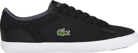 Lacoste Mens Lerond 116 1 Spm Fashion Sneaker Black