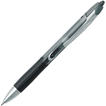 free shipping BIC Triumph 537RT Retractable Gel Medium Point Pen, 0.7mm, Black, 12 Pens