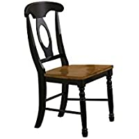 Quails Run 39 in. Napoleon Side Chair - Set of 2