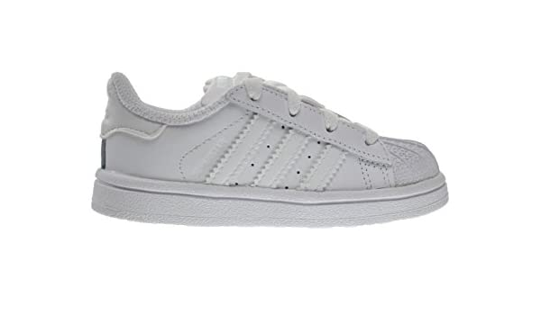 new styles 252ae 6f71c Amazon.com   Adidas Superstar Foundation I Baby Toddlers Shoes Running White  Ftw b23663 (6.5 M US)   Sneakers