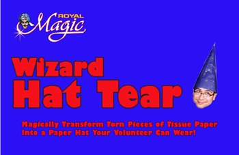 (Royal Magic Wizard Hat Tear Trick From A Classic of)