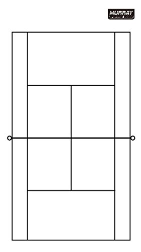 Murray Sporting Goods Dry-Erase Double Sided Tennis Coaches (Tennis Sporting Goods)
