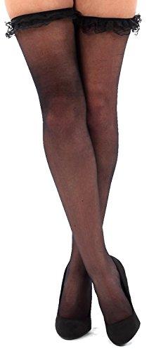 krautwear - Collant - donna 2254-schwarz