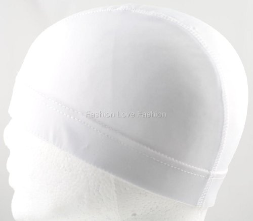 Price comparison product image King. J Spandex Dome Cap - White