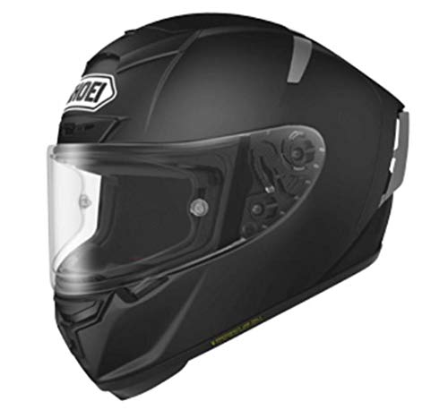 4dd0abc3 Shoei Solid X-14 Sports Bike Racing Motorcycle Helmet - Matte Black/Large