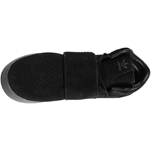 adidas Originals Herren Röhren Invader Strap Schuhe Schwarz / Schwarz-Schwarz