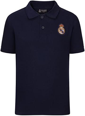 Real Madrid - Polo Oficial para Hombre - con el Escudo del Club ...