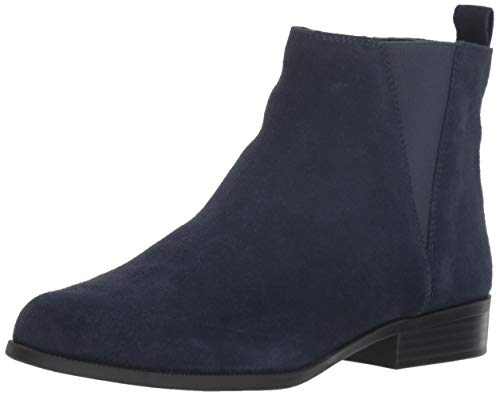Bandolino Women's CARNOT Chelsea Boot, Navy, 5 M US