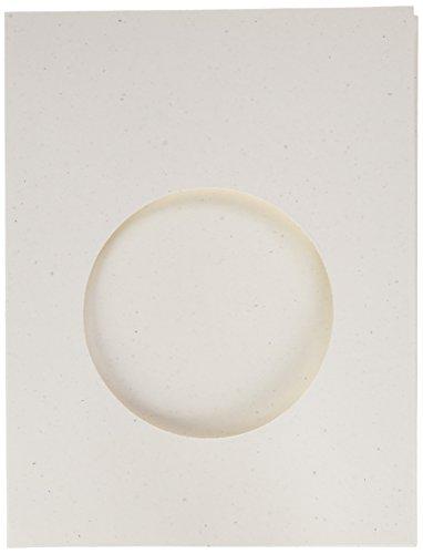 Hampton Art JB0832 Jillibean Soup Shaker Cards/Envelopes (6 Pack), Large Circle, White]()