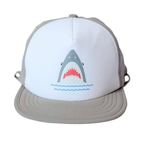 """BITTY BRAH """"Shark Bite"""" Sun Hat (Snapback) Breathable, Water Resistant 