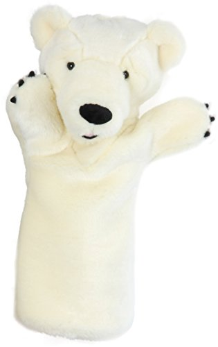 The Puppet Company Long-Sleeves Polar Bear Hand - Puppet Bear Hand Polar
