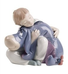 Nao by Lladro fine porcelain figurine from their Disney Collection: ''Dreams with Eeyore'' - No.1594 by Nao Porcelain