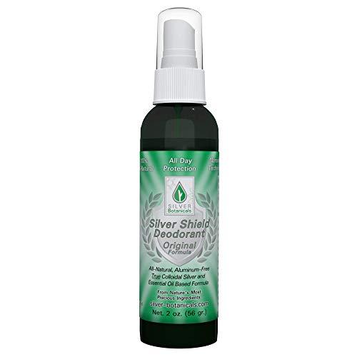 - Silver Shield Deodorant - Original Formula - Spray-On Version, All Natural Colloidal Silver Deodorant, 2 oz.