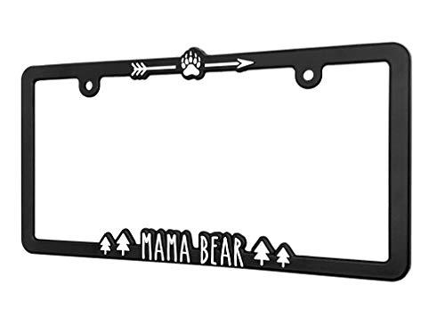 bear license plate frame - 2