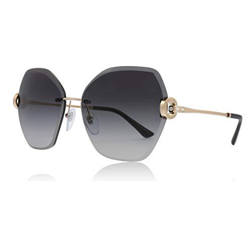 Bvlgari BV6105B 20148G Pink Gold BV6105B Square Sunglasses Lens Category 3 ()
