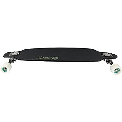 Sector 9 Fractal 2016 Black Complete Longboard Skateboard 9x36 DropTh Sidewinder : Sports & Outdoors