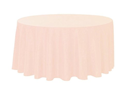 Your Chair Covers, Round Polyester Tablecloths, Blush Amazing Ideas