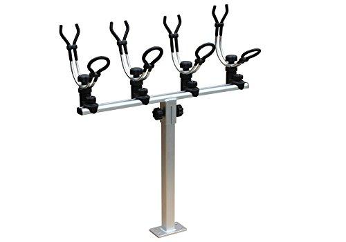 Cheap Brocraft Crappie rod holder system + Gunnel Track Mount (Tracker Versatrack / Lund Sport Track)