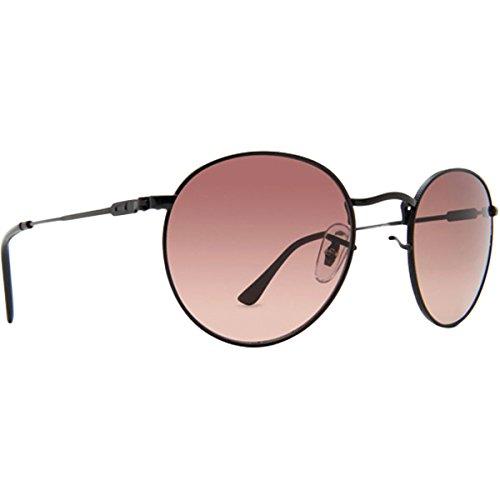 Dot Dash Velvatina Adult Sunglasses, Black Satin/Brown Gradient One - Sunglasses Bbc