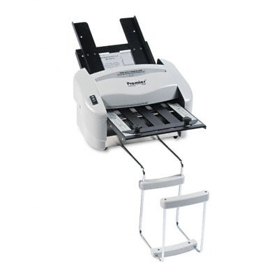 Martin Yale P7200 Premier Rapid Fold Automatic Desktop Letter/Paper Folder, Automatic Folding of 8 1/2
