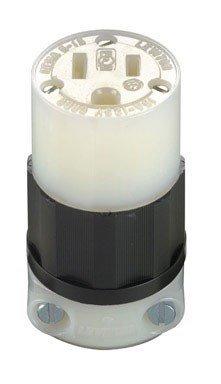 Leviton 161-05269-00C 2 Pole 15 Amp 125 Volt Industrial Grade Straight Blade Conne